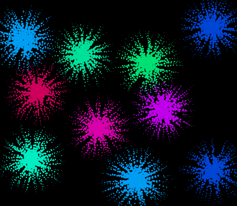 Splashes, скриншот (фрагмент экрана)